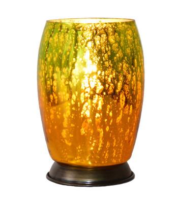Day Break Glass Vase Lamp A Glowing Memory