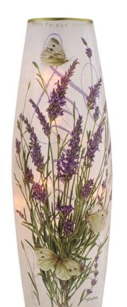 lg Lavender butterflies